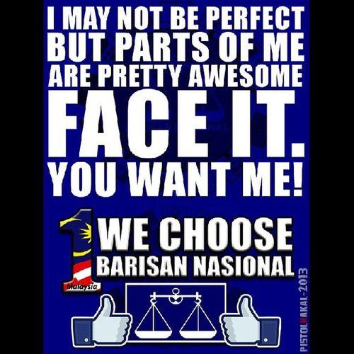 Bluewave GelombangBiru PeopleFirst YakiniBN Pru13 1Malaysia