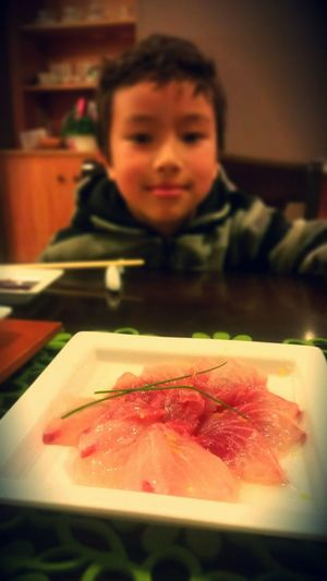 Sashimi  Oishii Sliced Raw Fish Dinner Time Japanese Food Yummy Food 🍣👍💜