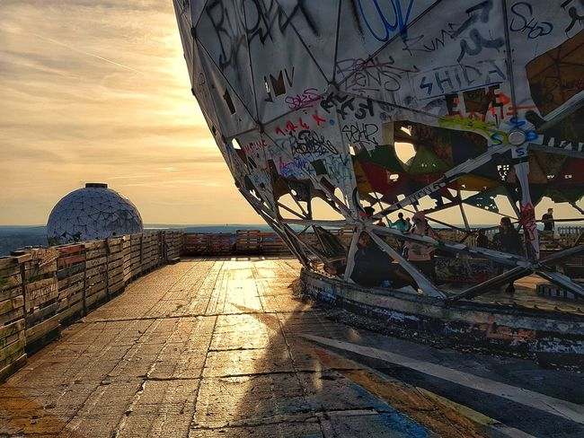 Outdoors Sunset Day Close-up Sky Discover Berlin Berlin Photography Teufelsberg Travel Destinations