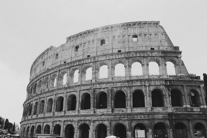 Deceptively Simple - Taken from my first trip to Rome, had to take a photo of the iconic The Colosseum, Rome