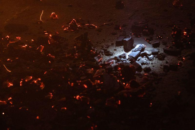 EyeEm Selects Москва красный Moscow Fire Fireworks Low Key Dark Darkness шахта шахтер уголь Red Illuminated Close-up