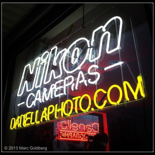 Store Neon Nikon Neon Sign