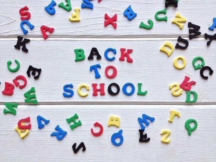 Back To School Education Spelling Foam Rubber Letters