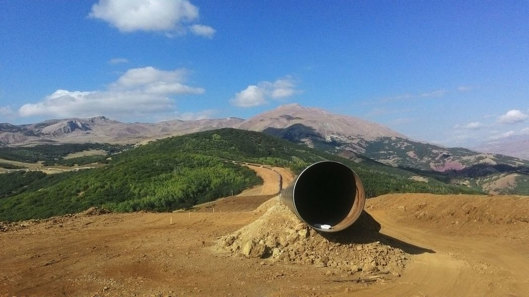 TANAP Pipeline Mountains Turkey Landscape Countryside Aut Oilandgas Ndt Landline Leading Lines