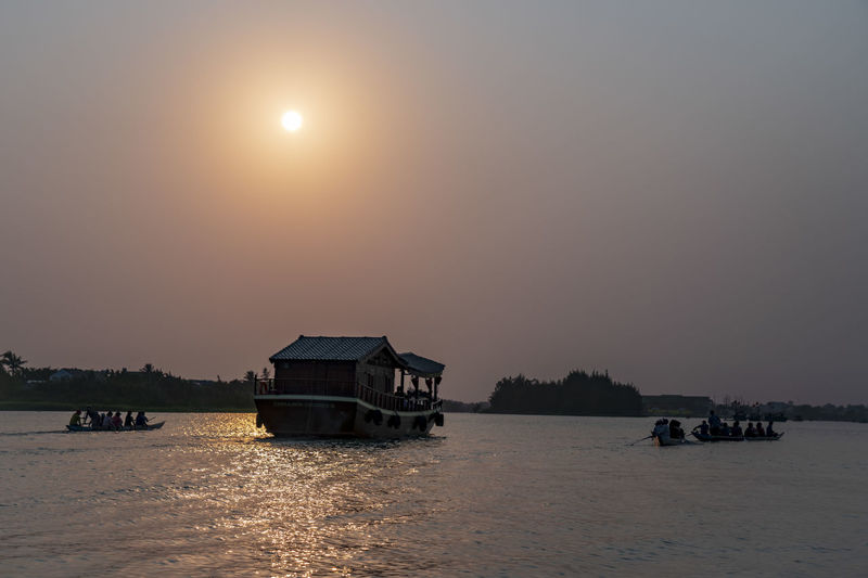 Boathouse on