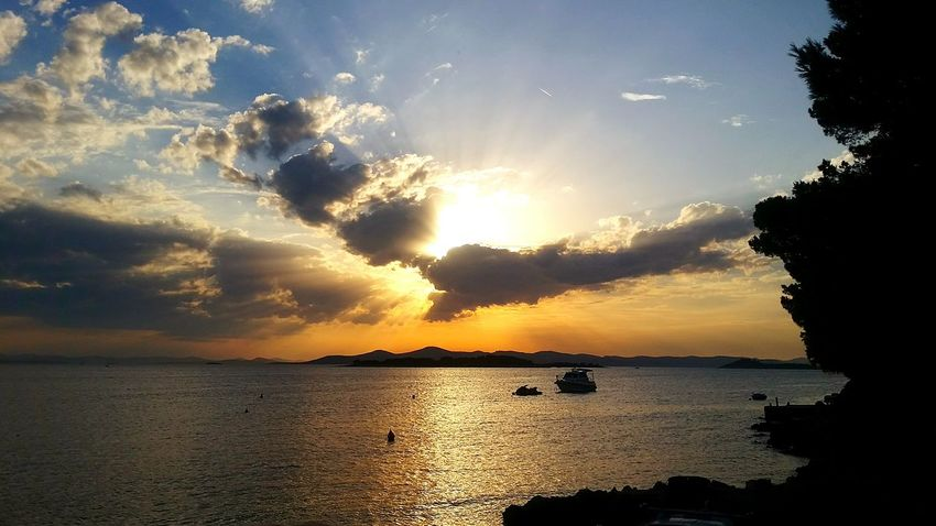 Summer Views Sunset_collection Sea Side MyWildLive Amazing Sunset in Croatia