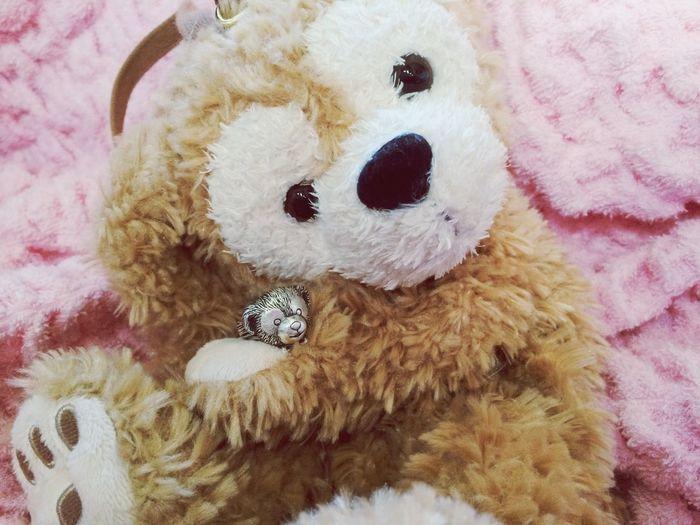 Duffy holding Silver Duffy Ring made by Alexandra Ny Duffy ShellieMay Tokyo Disney Sea Disney Handmade Jewellery