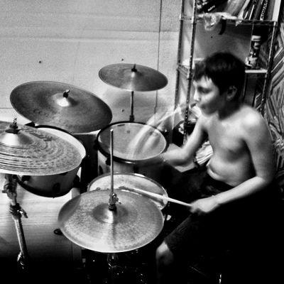 What I Value Blackandwhite Music Drummer 9 Years Old