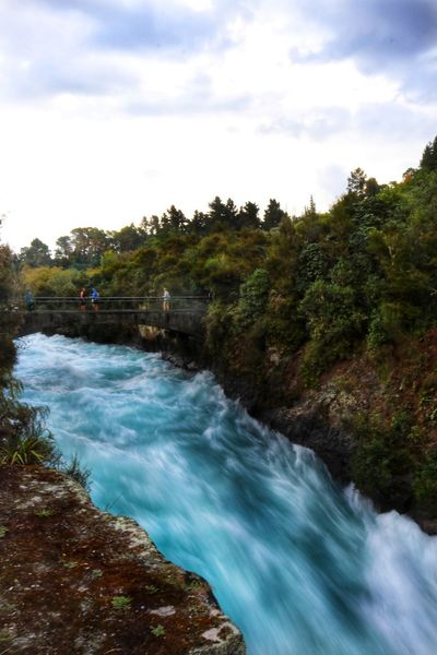 New Zealand Huka Falls Huka Falls, NZ Water Rapids White Water Rapids  White Water Blue colour of life Stormy Weather Stormy Sky Storm Clouds Sunset Nature No People Scenery New Zealand Scenery Tree Motion Scenics - Nature Sky Plant Beauty In Nature Blurred Motion Cloud - Sky Flowing Water Long Exposure Land Day Waterfall Environment Forest Growth Sport Flowing Outdoors Power In Nature
