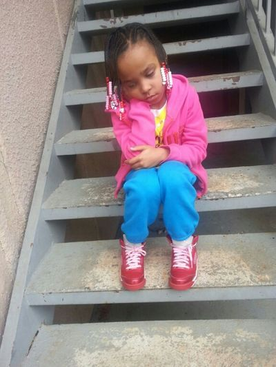 Awwww .. My Niece When She Had To Leave Saturday Morning