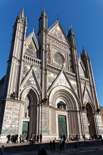Orvieto, Italy Travel Travel Photography Traveling Adult Architecture Building Exterior Built Structure Day Façade Italian Italy Large Group Of People Orvieto Outdoors People Place Of Worship Real People Religion Sky Spirituality Travel Destinations