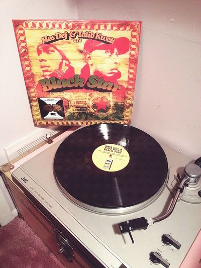Perfect for Melanin Monday👌🎶 Vinyl LP Black Star Mosdef Talibkweli HipHop BrownSkinLady Record Player Record Collection