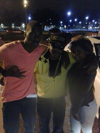 Shawt Fella from out da n.o after his show