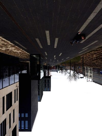 Upside down Upside Down Architecture Winter Built Structure Cold Temperature Building Exterior Nature Building Outdoors Connection