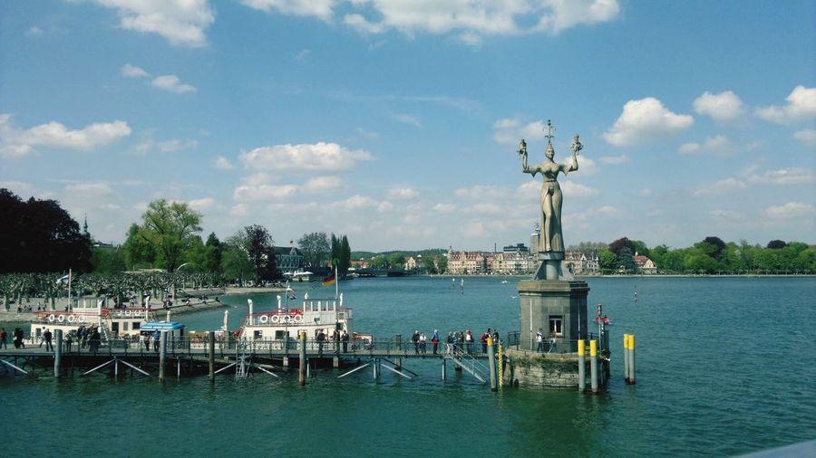 Water Hafen Konstanz Bodensee