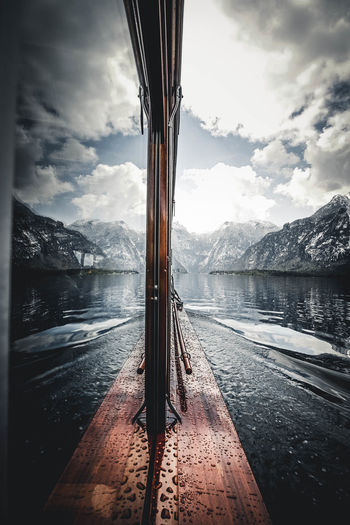 Reflection at Königsee Beautiful Beauty In Nature Boat Cloud - Sky Lake Landscape Mountain Mountains Nature Nature Nature On Your Doorstep Nature Photography Nature_collection Naturelovers Outdoor Photography Outdoors Reflection Reflection_collection Reflections Sea Sea And Sky Sky Water Water Reflections Waterfront