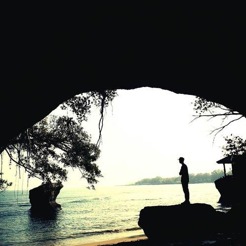 Amazing view of karang bolong Morningcapture wonderful Indonesia