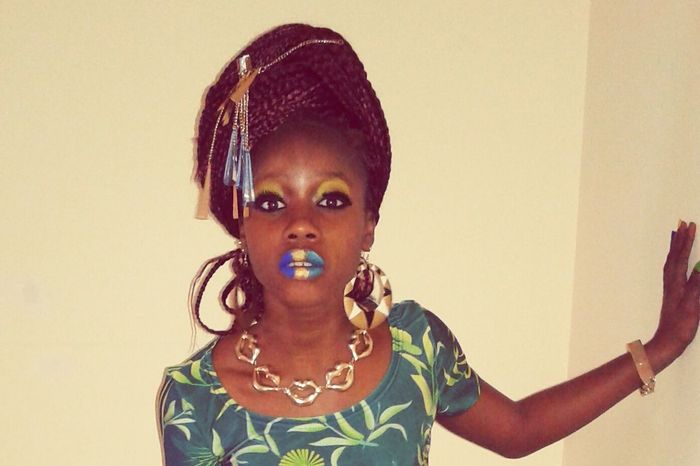 African lady