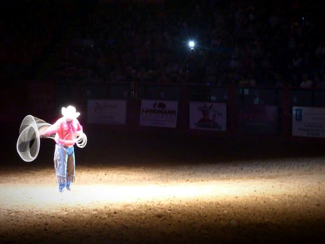 Trick Roping. 😮 Amazing Trickroping Rodeo Rodeochampionship Stockyards Forthworth Texas Cowboys Cowtown Coliseum StockyardsChampionship WheninTexas