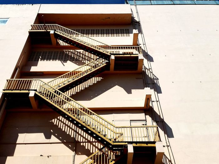 Kad Luang area Spiral Staircase Steps And Staircases Shadow Steps Safety Architecture Building Exterior Stairs Wall