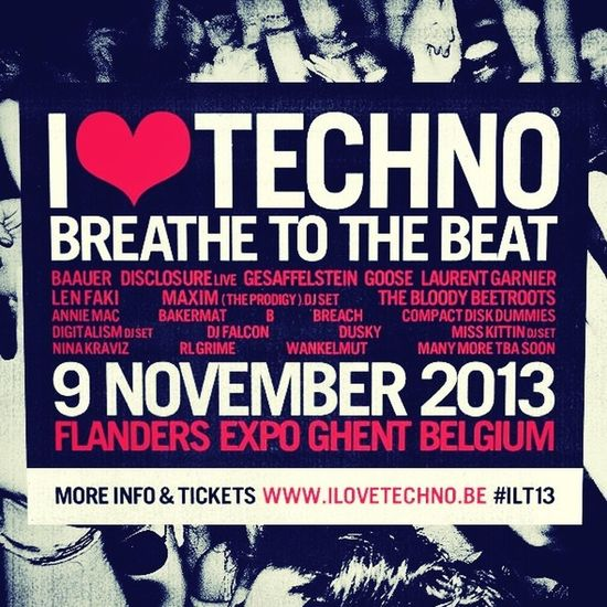 3 days left to get amazingly fucked!!! I Love Techno Gent 3days High