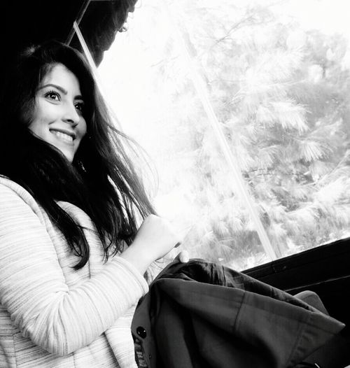 Always Smile Keep Calm And Always Smile Blackandwhite Photography Love My Hair Color Happiness Cbü Manisa Manisa  Smile