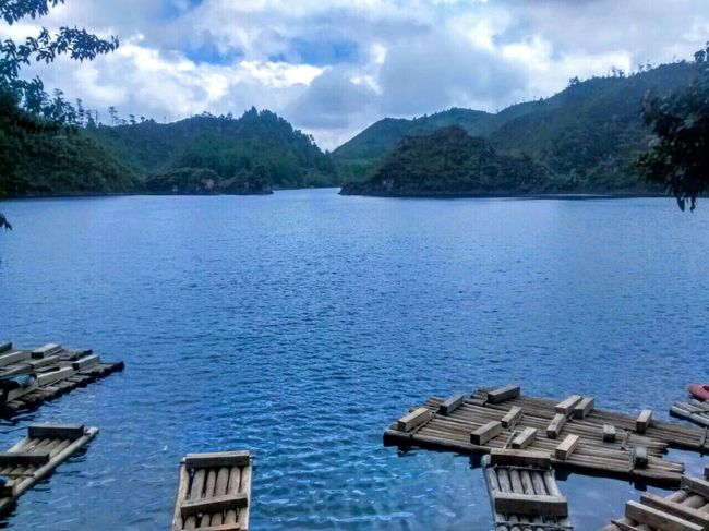 Sky Mountain Water Beauty In Nature No People Biglake Nature Beautiful Day Chiapas, México EyeEmNewHere