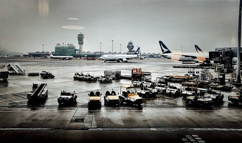 Transportation Water Mode Of Transportation Group Of People Real People Large Group Of People Architecture Sky Travel Airport Terminal Lifestyles Nautical Vessel Nature Outdoors High Angle View Crowd Built Structure City Day
