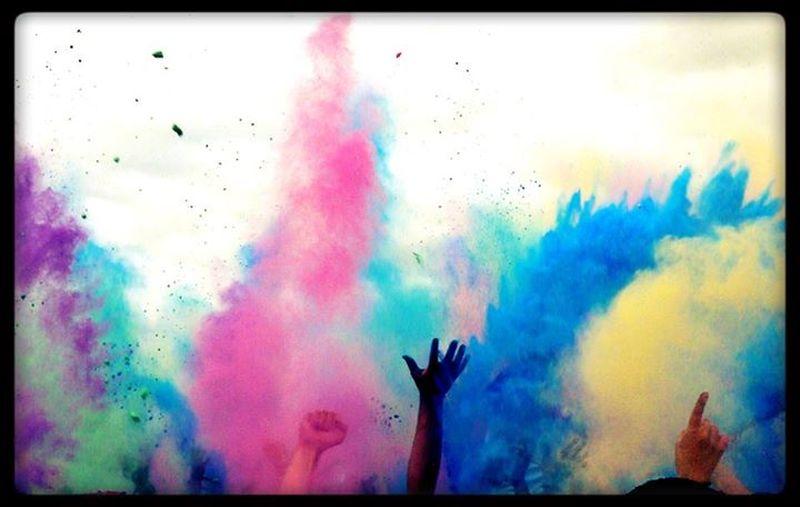 Holi Festival Don't Be Square
