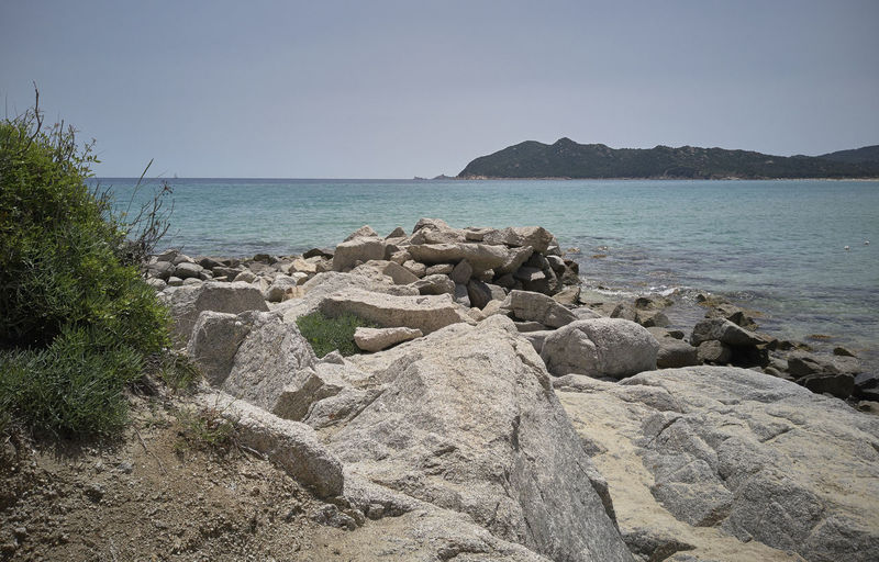 Beach Beauty In Nature Clear Sky Day Horizon Horizon Over Water Land Nature No People Non-urban Scene Outdoors Rock Rock - Object Scenics - Nature Sea Sky Solid Tranquil Scene Tranquility Water