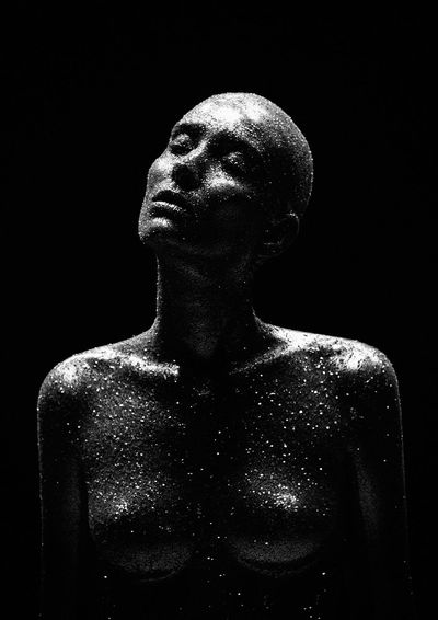 Body of Stars Beauty Fine Art Fine Art Portrait Gil Oliver Indoors  Mercvri Oliver Studios Sculpture Venvs