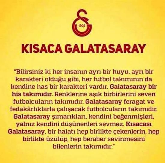 Galatasaray Cimbom 💛❤️ GALATASARAY <3 GALATASARAY ☝☝ GalataSaray ?⚽?