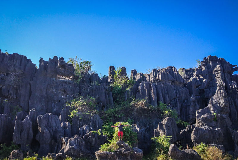 The forest of rock in Rammang-Rammang located in Maros near Makassar - South Sulawesi - Indonesia. The huge composite of rock estimated form millions of years ago. Lost In The Landscape Makassar Rammang2 Sulawesi Sulawesi Selatan Maros  Maros-south Sulawesi-indonesia Rammang Rammang Rammangrammang Sulawesiselatan Sulsel