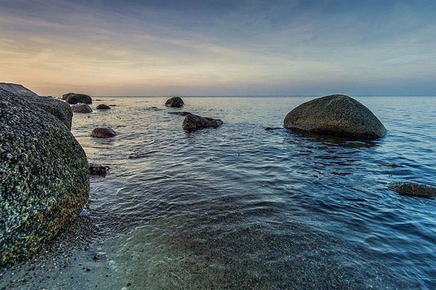 Sea Rock - Object Beach Sunset Tranquility Outdoors No People Day Nature Beauty In Nature Horizon Over Water Alpha6000 Sony A6000 GERMANY🇩🇪DEUTSCHERLAND@ FolowMe ✌ Eye Em Nature Lover Photooftheday EyeEm Masterclass EyeEm Best Shots Travel Destinations Reflection EyeEm Selects Followback WeissenhäuserStrand Beachlovers