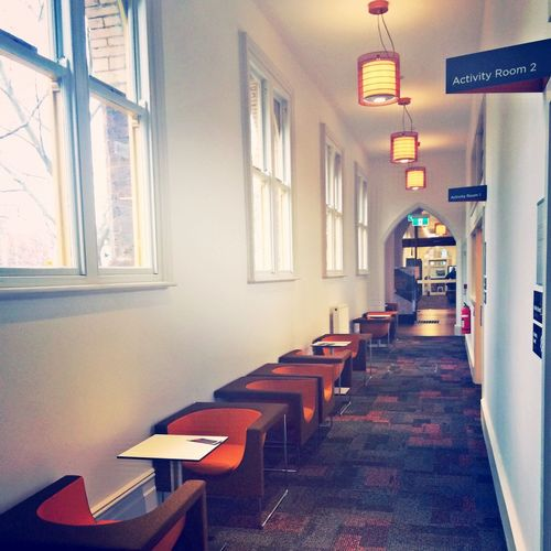 A very cozy library near Lygon Street, Melbourne. It combines heritage building with modern design. There are silent study spaces, discussion room, kids corner, computer lab and coffee shop. You'll get plenty of chance exploring the collection as well!