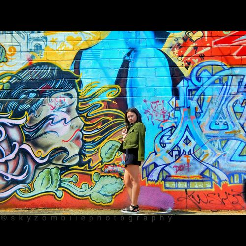 Taking Photos Brick Building Vibrant Colors Tower District Photography Fresno Ca Enjoying Life Live In The Moment Eyemphotography Nikoncoolpixl830 California California Lifestyle Eye4photography  Photographer Photoshoot Modelgirl Model Shoot FresnoCA Check This Out Graffiti Graffiti & Streetart Graffiti Wall Graffiti Building Graffiti Art Street Fashion