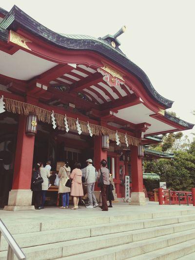Taking Photos Shrine Japanese Shrine Relaxing