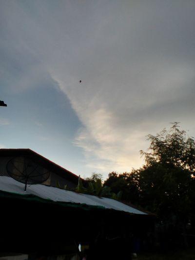 Sky Cloud - Sky Outdoors ท้องฟ้ายามเย็นวันนี้