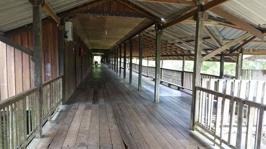 Architecture Built Structure Day Indoors  Longhouse In Sarawak Longhouse Verandah No People Perspectives And Dimensions Roof Wood Wooden House Sarawak Sarawakmalaysia No Edit/no Filter Traveling Home For The Holidays