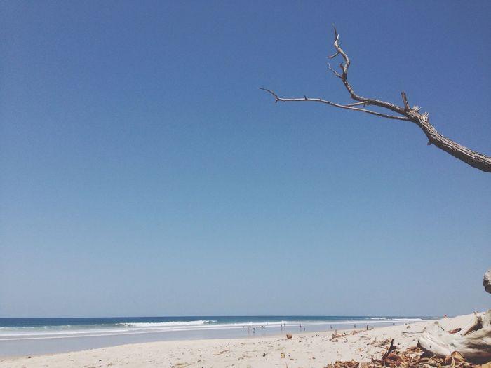 White Sand White Sand Beach Waves Ocean Playa Santa Teresa Ocean View Bluesky Noclouds