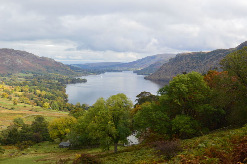 Tranquil Scene Tranquility Idyllic Lake District Lake View Natural Beauty Cumdria View From Seldom Seen English Countryside Ullswater Lake Countryside Nature Water Beauty In Nature Cloud - Sky Mountain Sky Remote Outdoors Mountain Range Landscape Cloudy