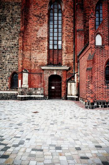 Sunday. Berlin Berlin Photography Berlincity Berlintourist Stmaryscathedral Brick Building Brickwork  Red Color Red StMarychurch Architecture Architecture_collection Architecturelovers Architectureporn Architecturephotography The Architect - 2016 EyeEm Awards