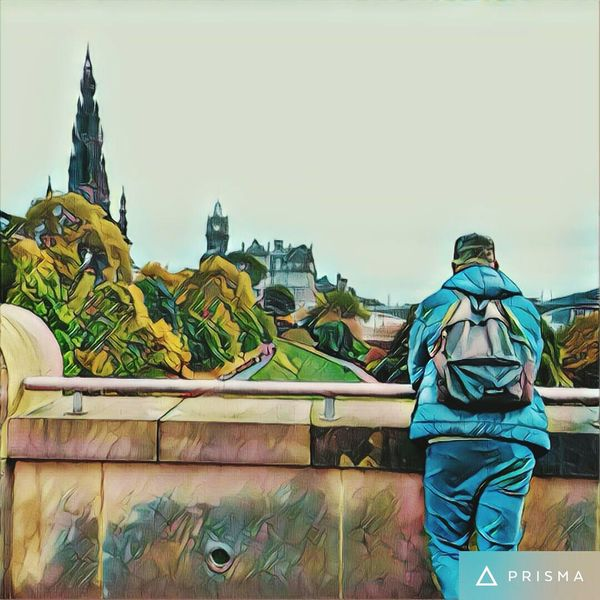 In Edinburgh 😉✌️ Beauty In Nature Nature People Castle Travel Sky Day Travel Destinations Tranquility Outdoors Edinburgh