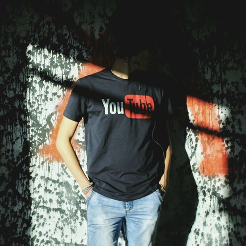 Standing Casual Clothing T-shirt Person In Front Of Creativity Solarflare Youtube