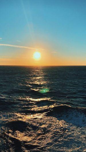 Océano Sea Sky Water Scenics - Nature Horizon Over Water Beauty In Nature Horizon