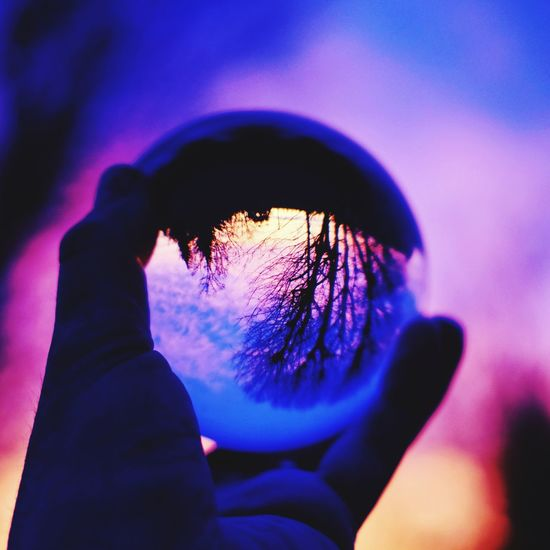 Sunset ball EyeEm Best Shots - Nature EyeEm Nature Lover Real People Blue One Person Human Body Part Leisure Activity Outdoors Lifestyles Close-up Nature Sky Women Clear Sky Day Human Hand People