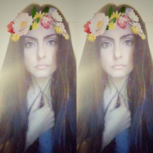 Me 🌸 Taking Photos Photography Girl Flowers That's MeHello World Peace Love Everyday Lives Selfie Portrait Hippie Allyouneedislove