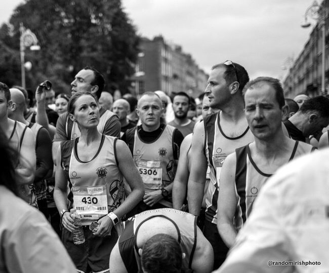 Marathon EE_Daily: Black And White Ireland Mono Chrome
