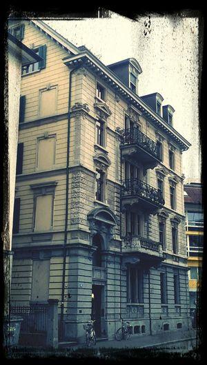 Zurich, Switzerland Architecture Old Buildings Times Ticking