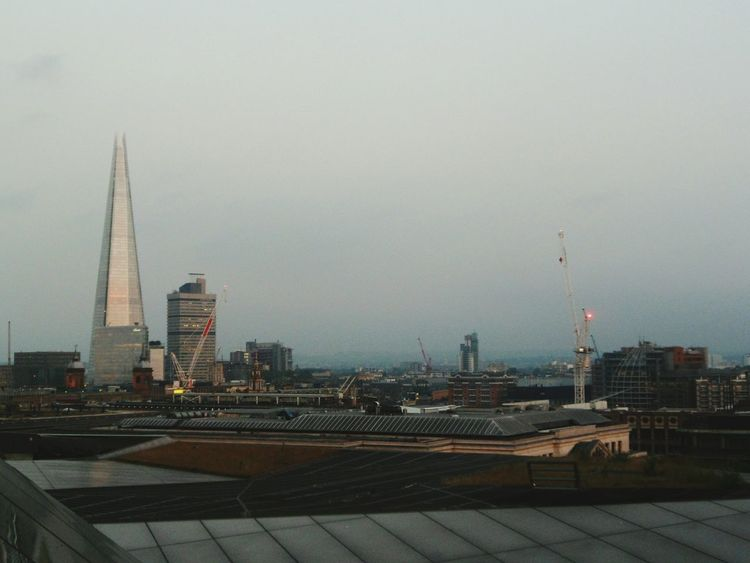 Gorgeous view from One New Change Architecture Enjoying The View No People Outdoors Historical Place International Landmark Tourism City Hello World EyeEm Gallery Famous Place Capital Cities  Hidden Gems  Historical Sights EyeEm Best Shots Eye4photography  Travel Destinations Tall - High Sunset Built Structure Horizon Over Land Cityscapes Cityscape The Shard The Shard London